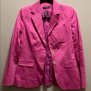 Lauren Ralph Lauren Hot Pink Woman's Blazer Size 2